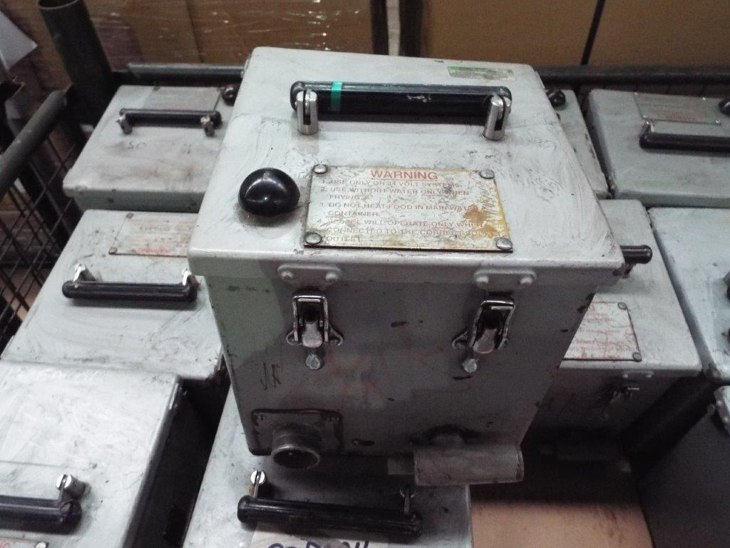 Lot 19146 - Approx 40 x Cooking Vessel (electric 24V) No 1 Mk 2 FV 706656