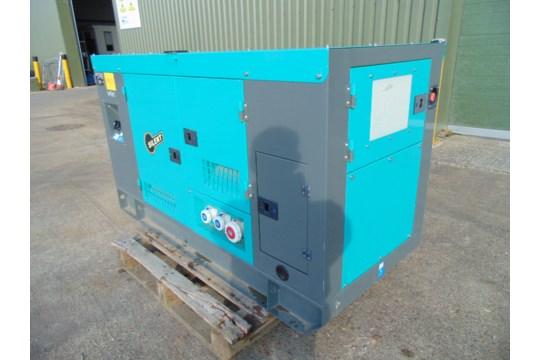 Lot 26836 - UNISSUED 50 KVA 3 Phase Silent Diesel Generator Set