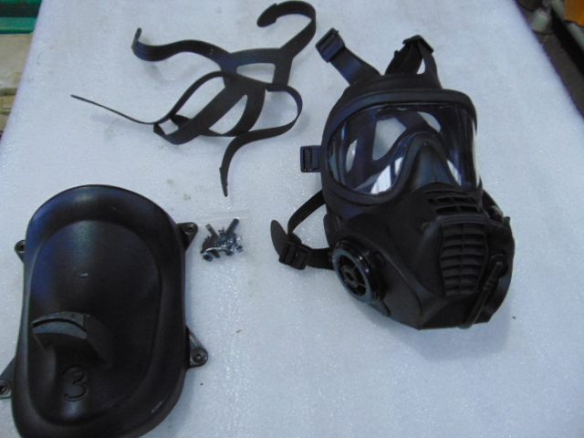 Lot 27325 - UNISSUED General Service Respirator c/w Holder and 10 x Respirator Harnesses