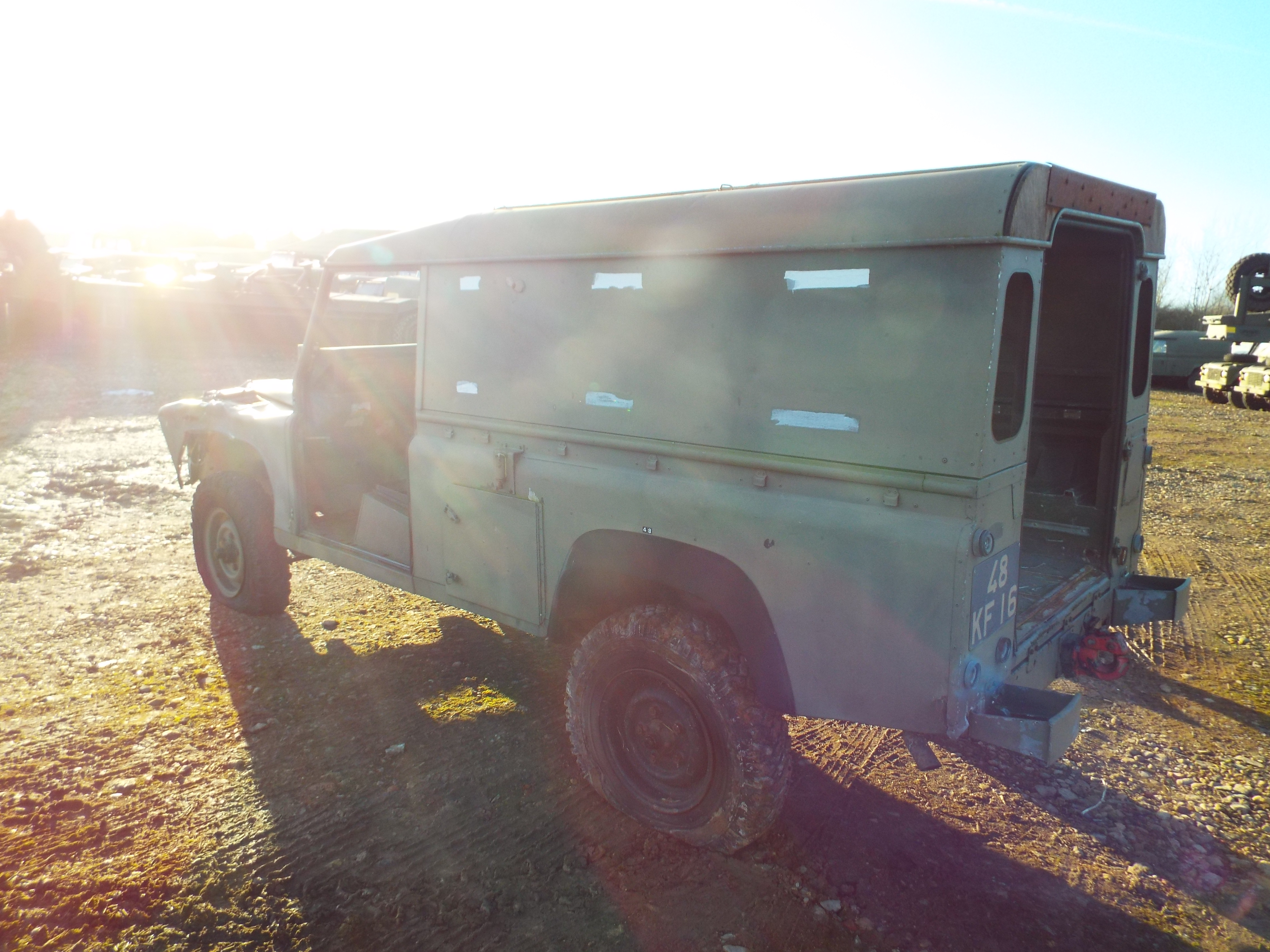 Lot 13599 - Land Rover Defender 110 Hard Top