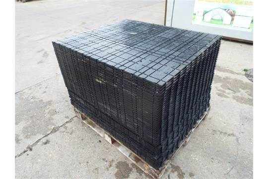Lot 26579 - Pallet of Rola Trac Interlocking Flooring