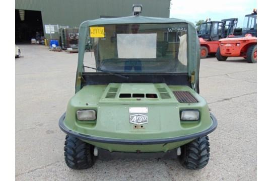 Lotto 26404 - Argocat 8x8 Magnum Amphibious ATV with Canopy