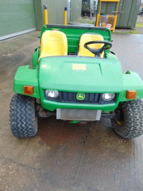 Lot 26801 - John Deere Trail Gator 6x4 Utility ATV C/W Tipping Rear Body