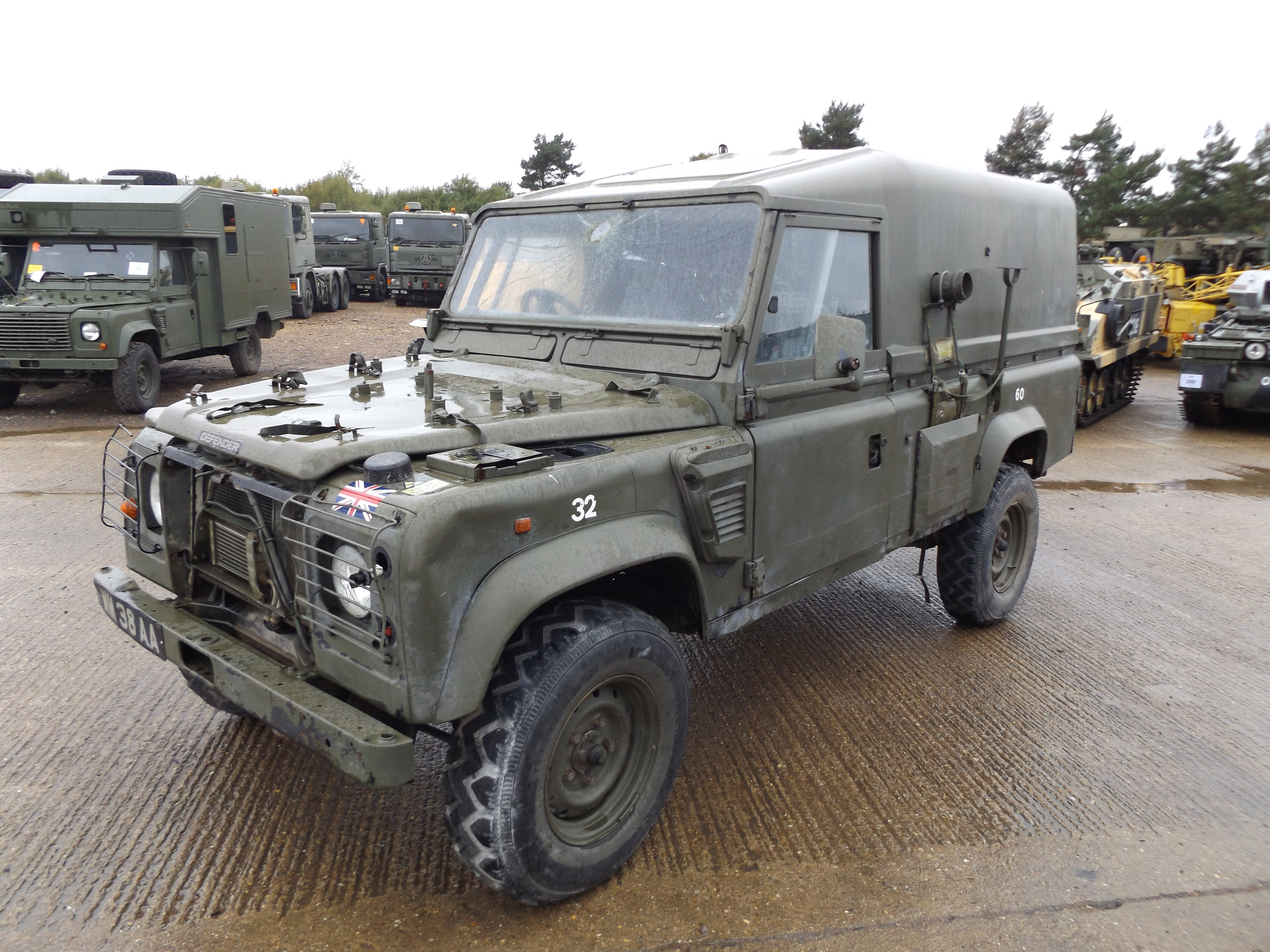 You Are Bidding On Direct From The Uk Ministry Of Defence A