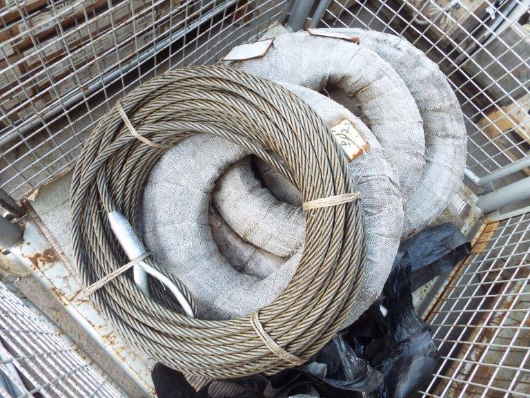 Lot 19181 - 4 x Heavy Duty Rolls of 21.5T MBL Recovery Wire Winch Rope