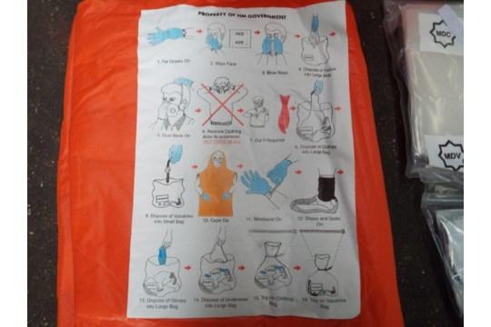 Lot 26817 - 50 x Dis Robe Decontamination Kits