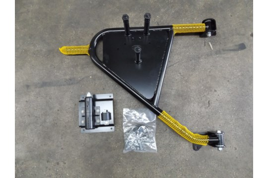 Lotto 26439 - Land Rover Swing Out Spare Wheel Carrier Kit VPLDR0129