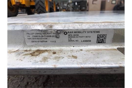 Lot 25860 - AAR Mobility Systems HCU6/E Aircraft Cargo Loading Pallet