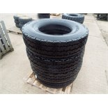 Lot 13611 - 4 x Michelin XZY-2 12.00 R22.5 Tyres