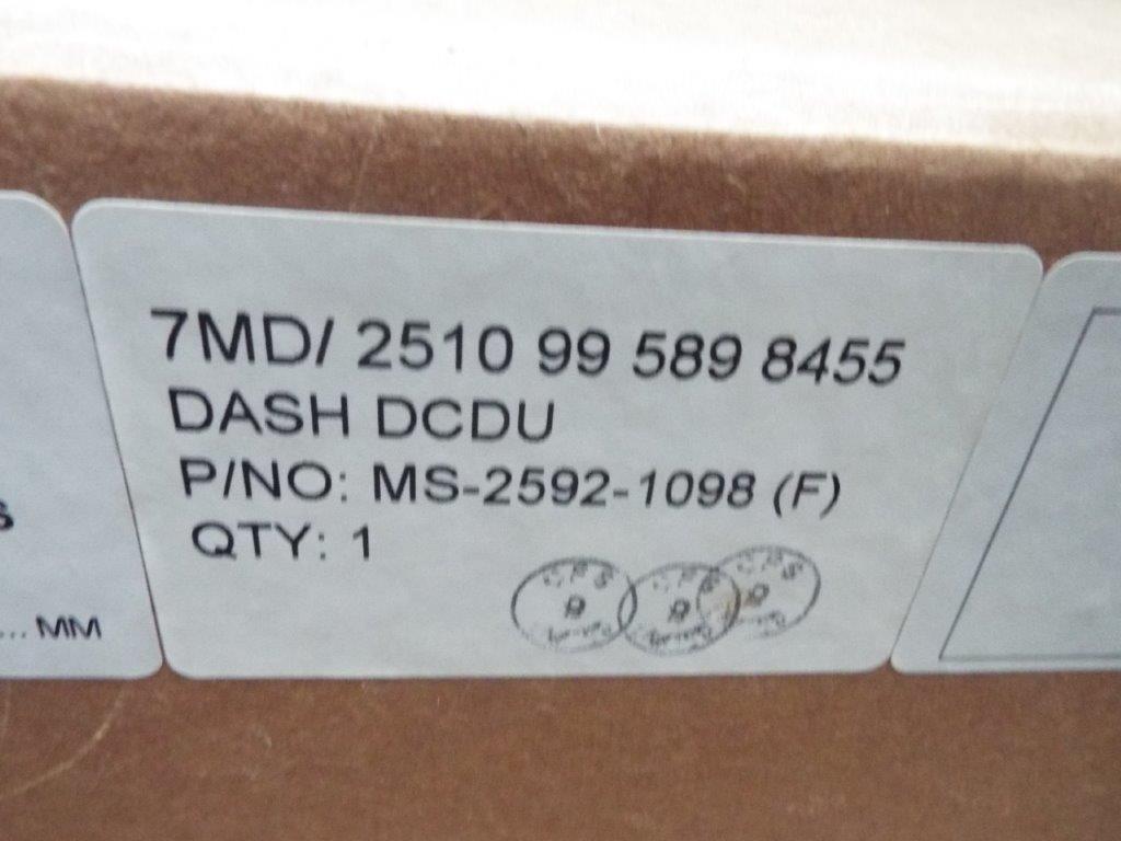 Lot 19169 - Mowag Duro Dashboard DCDU P/No MS-2592-1098 (F)