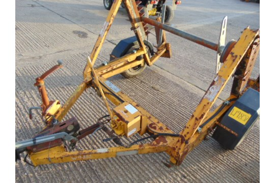 Lot 26598 - Cable Drum Trailer