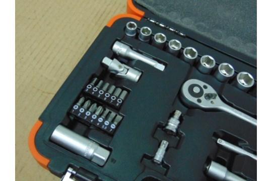 "Lot 26588 - Unissued Draper 34pc 3/8"" Combined Socket Set"