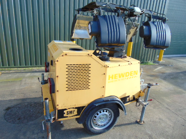Lot 25834 - SMC TL90 Perkins Diesel Powered Trailer Mounted Lighting Tower