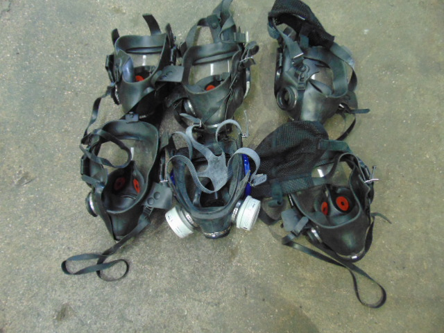 Lotto 26400 - 6 x Breathing Apparatus Masks