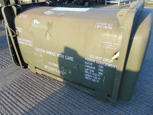 Lot 27333 - Air Transportable Steel Transit Unit