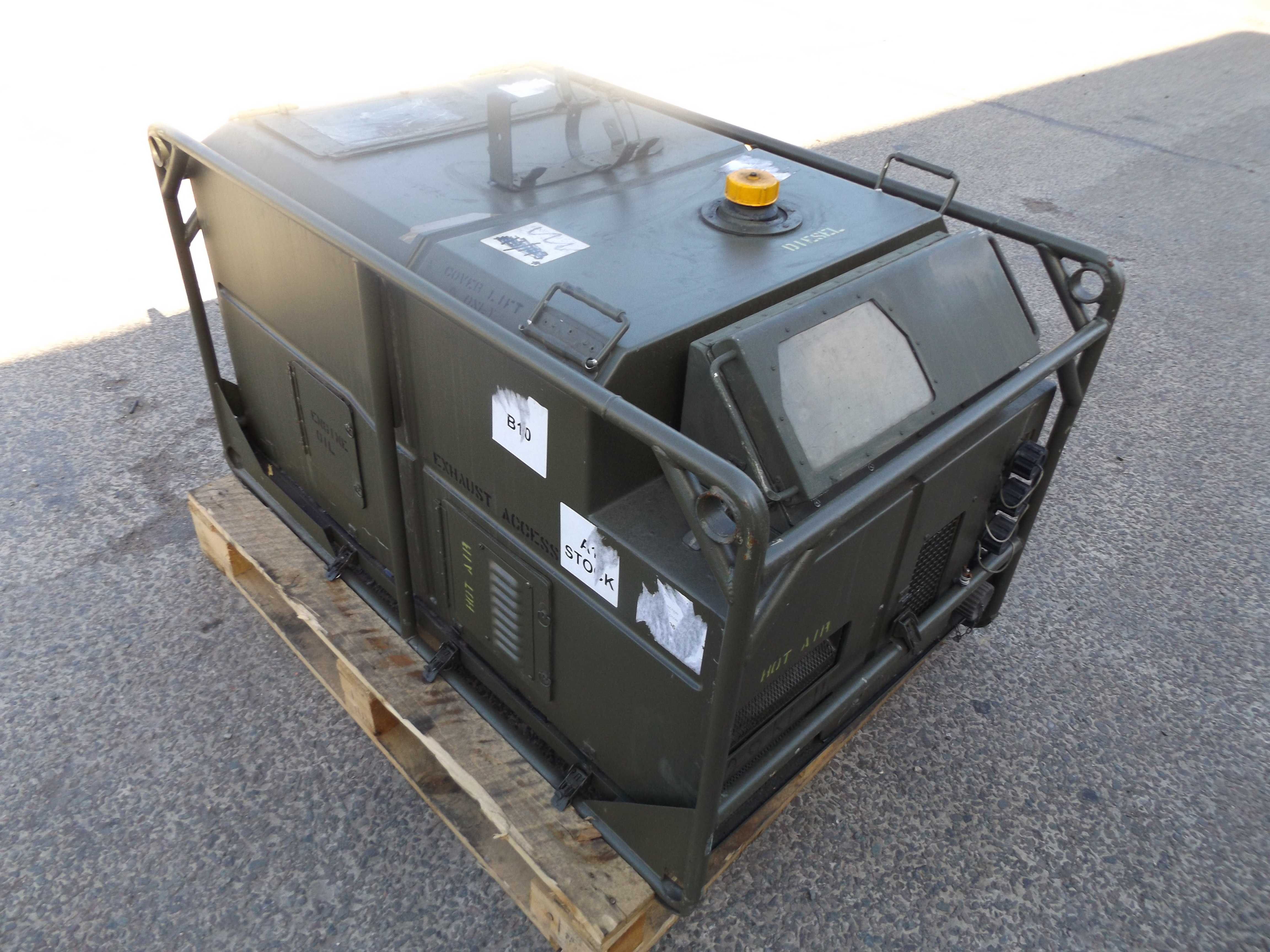 You are bidding on a Lister Petter air log 4169 A 5 6 KVA sel