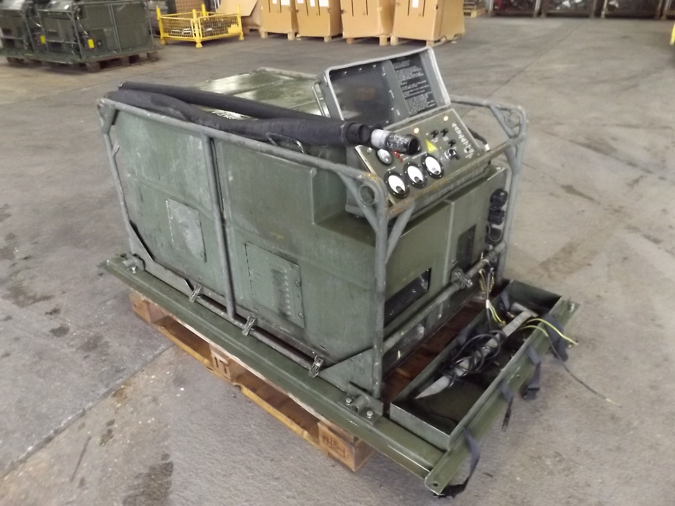 You are bidding on a Lister Petter Air Log 4169 A 5 6 KVA Single