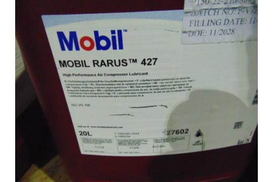 Lot 26606 - 6 x 20 Ltr Mobil Rarus 427