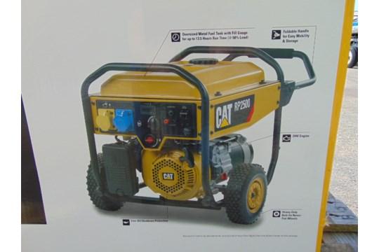 Lot 25861 - UNISSUED Caterpillar RP2500 Industrial Petrol Generator Set