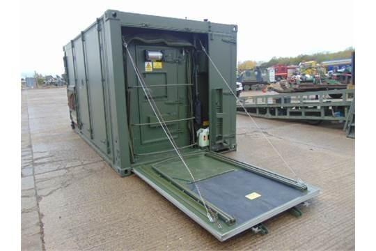Lot 26628 - Demountable Workshop/Communications Cabin