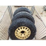 Lot 13614 - 3 x WMIK Rims complete with Cooper STT LT265/75 R16 Tyres