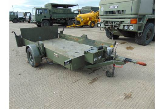 Hydraulic Lowering Trailers : You are bidding on direct from a uk government department
