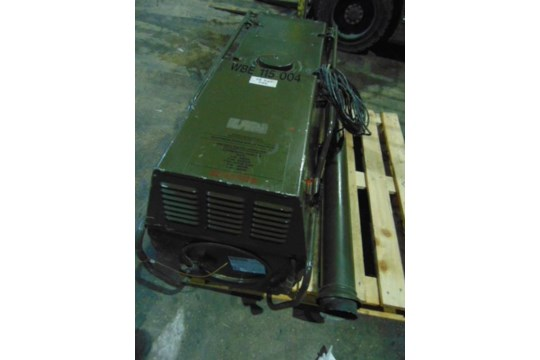 Lot 27217 - Dantherm VA-M 15 Mobile Workshop Heater