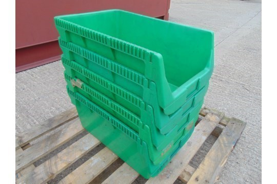 Lot 26800 - 5 x Schafer Pew W50 Parts Storage Containers