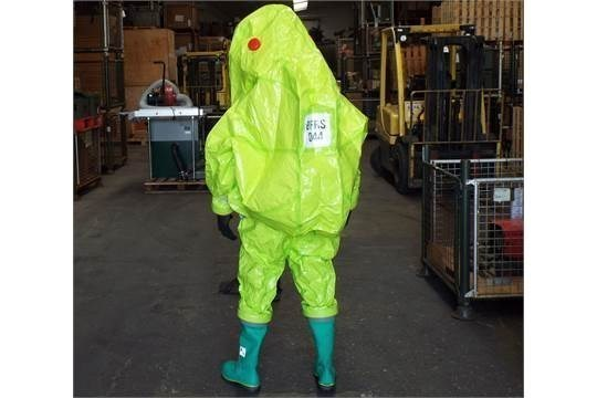 Lotto 26409 - Q10 x Unissued Respirex Tychem TK Gas-Tight Hazmat Suit Type 1A