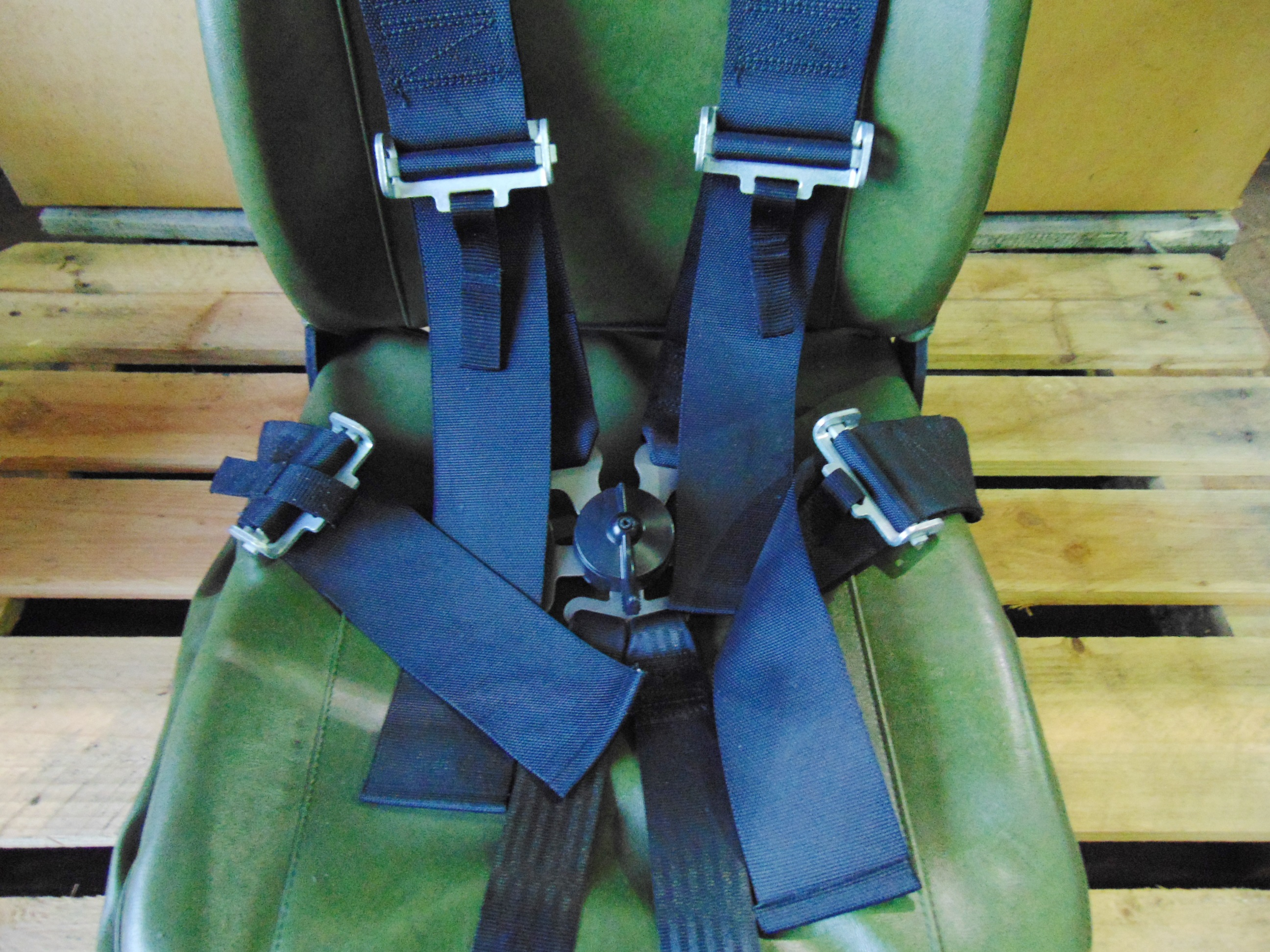 Lot 26828 - Unissued Vehicle Operators Seat with Harness