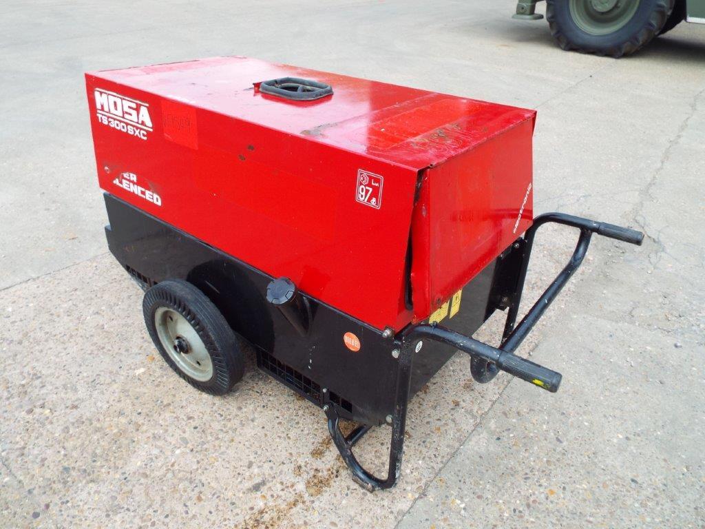 Lot 21135 - 2012 Mosa T300SXC Diesel Welder Generator