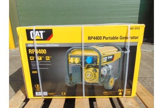 Lot 26596 - UNISSUED Caterpillar RP4400 Industrial Petrol Generator Set