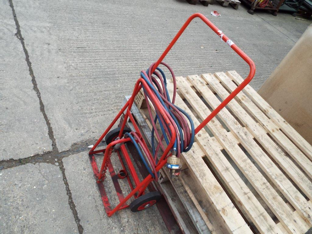 Oxy Acetylene Cutting Kit with Gas Bottle Trolley