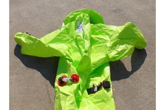 Lot 26807 - Q10 x Unissued Respirex Tychem TK Gas-Tight Hazmat Suit. Size XL