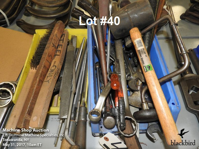Lot 40 - Lot- Miscellaneous tools and files