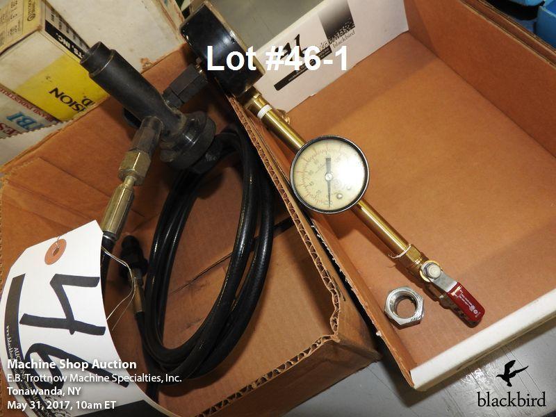 Lot 46 - Nitrogen machine gauge/ pressure test