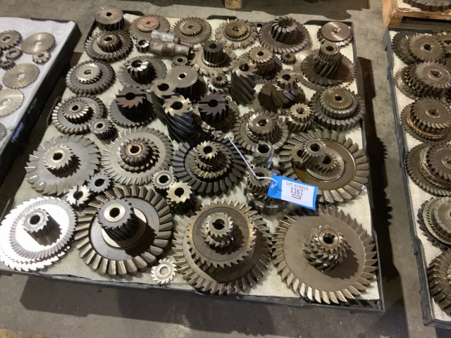 Lot 1367 - Perishable tooling