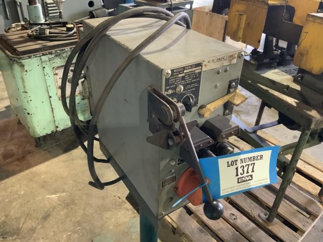 Lot 1377 - Butt welder