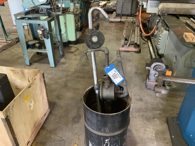 Lot 1374 - Barrel pumps