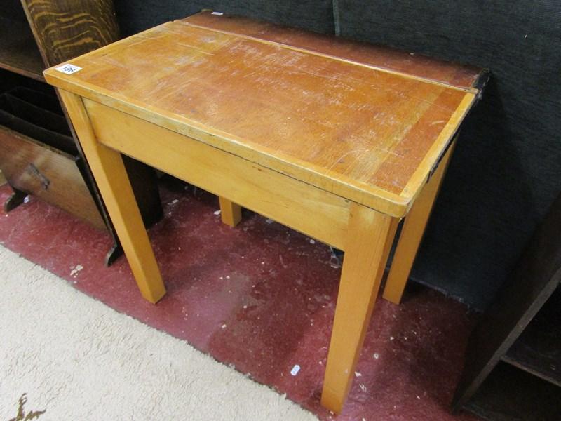 Lot 196 - School desk