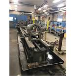 MONARCH ENGINE LATHE, MODEL 27''N, S/N 18086-A, 30.5'' SWING, 204'' BETWEEN CENTERS, 6-303 SPINDLE