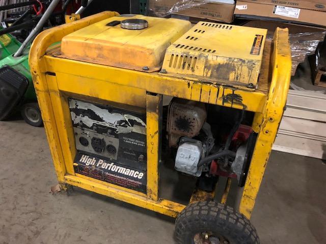 High Performance gas generator