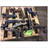 Various hitches. Ball and Pintle