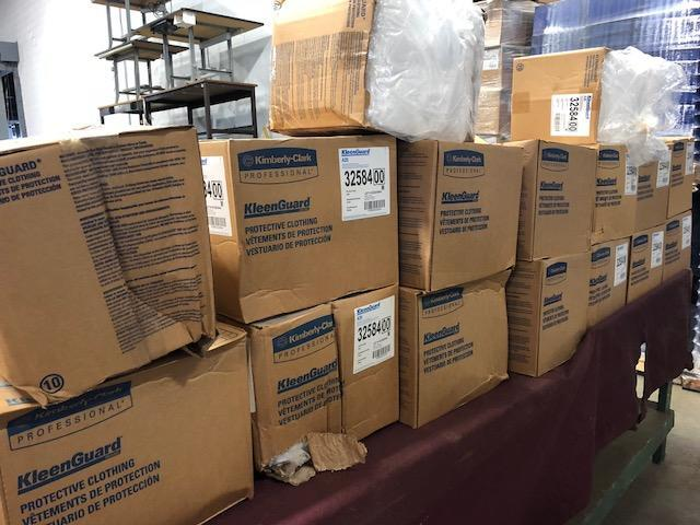 KleenGuard A35 Coverall paint suits. 25 suits per box - Image 3 of 3