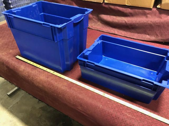 Trelleborg Rubore plastic storage totes. Containing 2 different sizes. (See pics) - Image 4 of 4