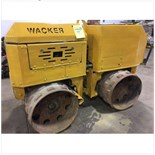 Wacker trench compactor. Diesel. Has controls.