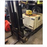 Crown walk behind forklift w/ newer Grove charger