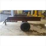 PTO drive, hydraulic log splitter. Newer tires