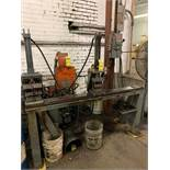 PUNCH & COUNTER SINK MACHINE; UP TO 70'' LONG WITH NIAGARA HYDRAULIC PUMP UNIT