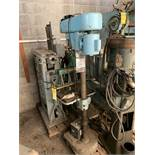WALKER TURNER DRILL PRESS WITH COMMANDER MULTI DRILL WITH 2-SPINDLE DRILLING HEADS